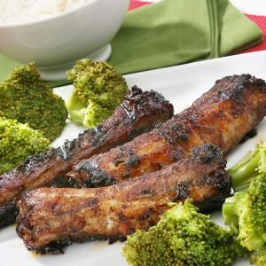 Arroz com costela e brócolis - 17